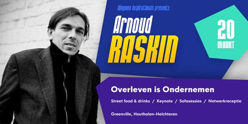 Keynote Arnoud Raskin